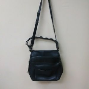 Philo High Noon Shoulder Bag Black